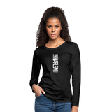 I AM HARLEM Women's Premium Long Sleeve T-Shirt - charcoal gray