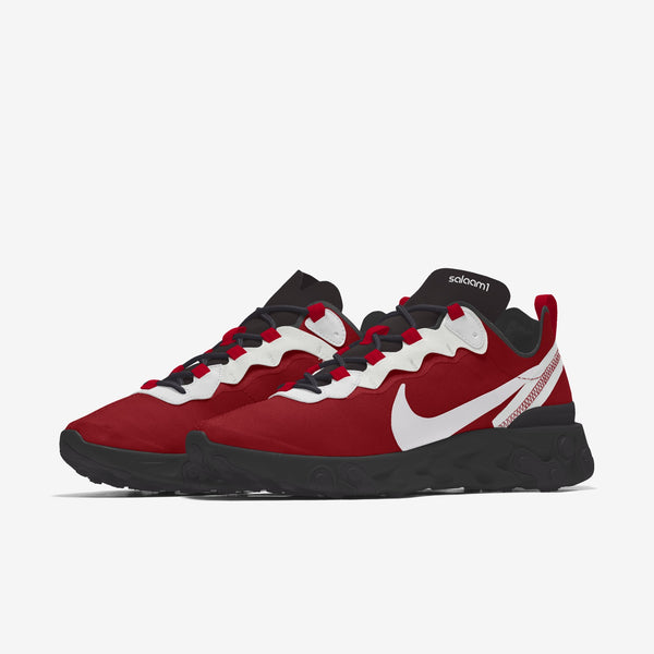 Copy of Salaam 1 (Nike React Element 55) Womens Sneakers