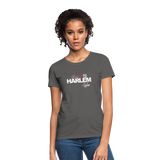 BACKED BY 155 HARLEM WEAR WOMENS  T-Shirt - charcoal