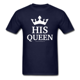 HIS QUEEN T-Shirt - navy