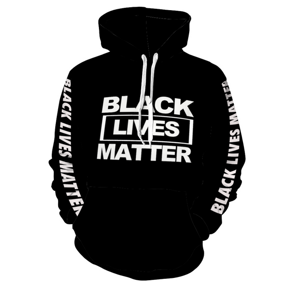 BLACK LIVES MATTER Hoodie with Pockets