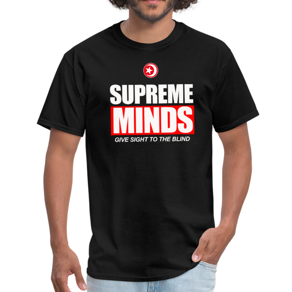 SUPREME MINDS T-Shirt - black