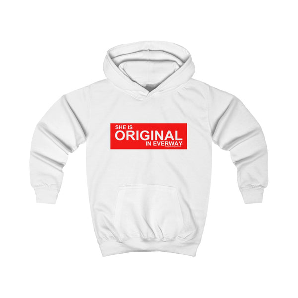 SHE IS ORIGINAL (Childrens) Hoodie