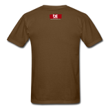 19 THERE'S POWER THAT NUMBER T-Shirt - brown