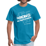 BACK BY 155 Dj Ron G T Shirt - turquoise