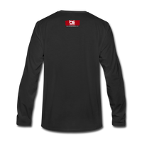 19 THERE'S POWER THAT NUMBER Premium Long Sleeve T-Shirt - black