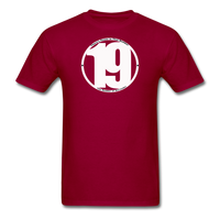 19 THERE'S POWER THAT NUMBER T-Shirt - dark red