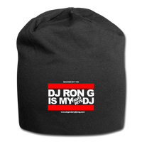 DJ RON G IS MY FAVORITE DJ  Beanie - black
