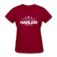 POLOGROUNDS HARLEM Women's T-Shirt - dark red