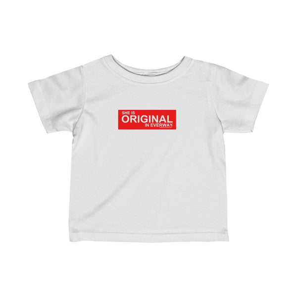 SHE IS ORIGINAL Infant Fine Jersey Tee