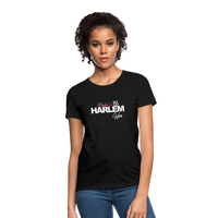 BACKED BY 155 HARLEM WEAR WOMENS  T-Shirt - black