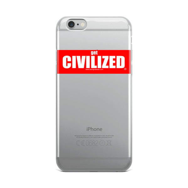 Get CIVILIZED iPhone 7 Case