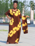 African Tie dyeing  Dress