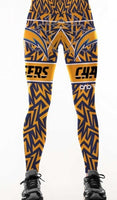SAN DIEGO CHARGERS  PRINT  HIGH WAIST LEGGINGS