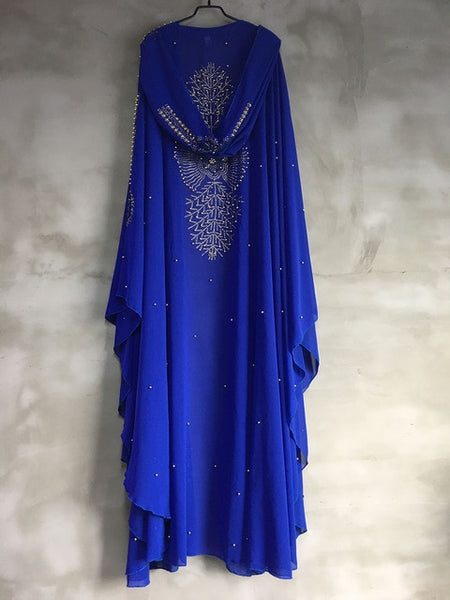 Elegant Muslim  Long Maxi  Dress