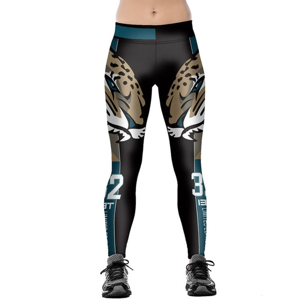 Leopard High Waist Leggings