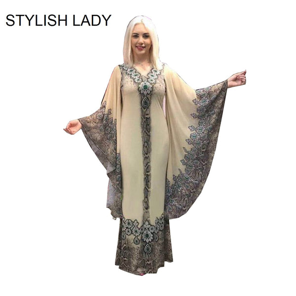 STYLISH LADY Maxi African Dress