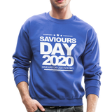 SAVIOURS DAY 2020 Crewneck Sweatshirt - royal blue