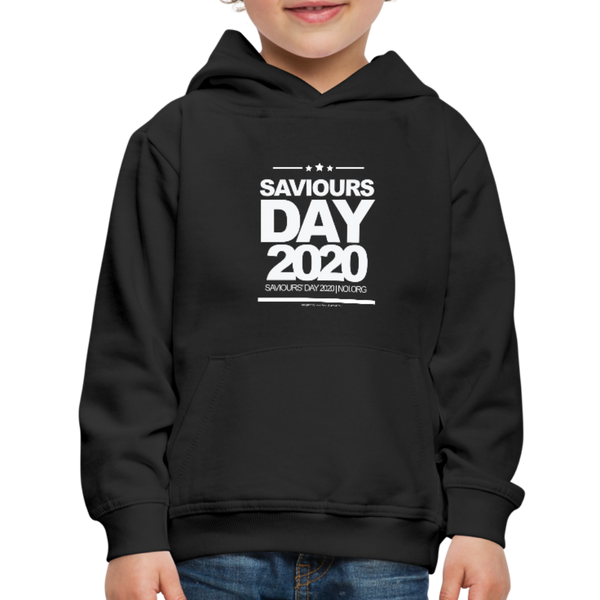 SAVIOURS DAY 2020 CHILDRENS' Premium Hoodie - black