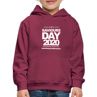 SAVIOURS DAY 2020 CHILDRENS' Premium Hoodie - burgundy