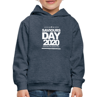 SAVIOURS DAY 2020 CHILDRENS' Premium Hoodie - heather denim