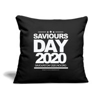 "SAVIOURS DAY 2020 Pillow Cover 18"" x 18"" - black"