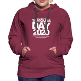 SAVIOURS DAY 2020 Women's Premium Hoodie - burgundy