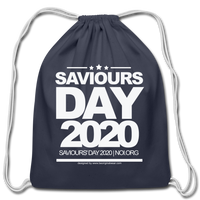 SAVIOURS DAY 2020 Cotton Drawstring Bag - navy
