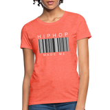 HIP HOP MADE ME Women's T-Shirt - heather coral