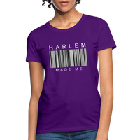 HARLEM MADE ME Women's T-Shirt - purple