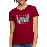 HARLEM MADE ME Women's T-Shirt - dark red