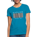 HARLEM MADE ME Women's T-Shirt - turquoise