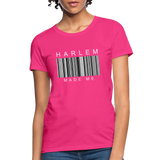 HARLEM MADE ME Women's T-Shirt - fuchsia