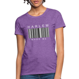 HARLEM MADE ME Women's T-Shirt - purple heather