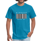 HIP HOP MADE ME Men's T-Shirt - turquoise