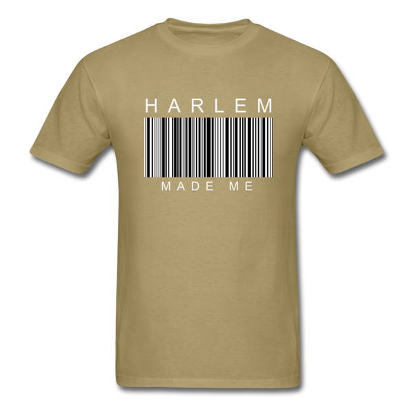 HARLEM MADE ME Men's T-Shirt - khaki