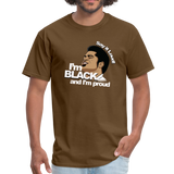 Say it loud T-Shirt - brown