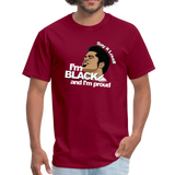 Say it loud T-Shirt - burgundy