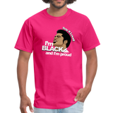 Say it loud T-Shirt - fuchsia