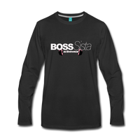 Womens Boss Sister Activewear Long Sleeve T-Shirt - black