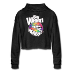 Women's I Stay WEED Ready Cropped Hoodie - deep heather