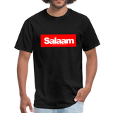 Salaam means peace  T-Shirt - black