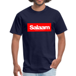 Salaam means peace  T-Shirt - navy
