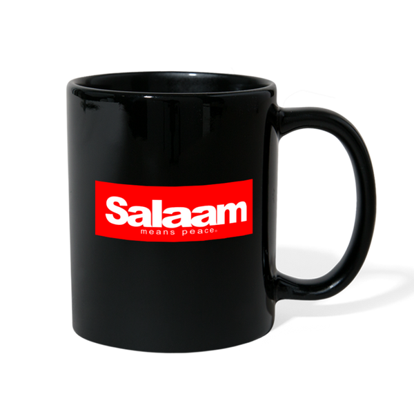 Salaam means PEACE Full Color Mug - black