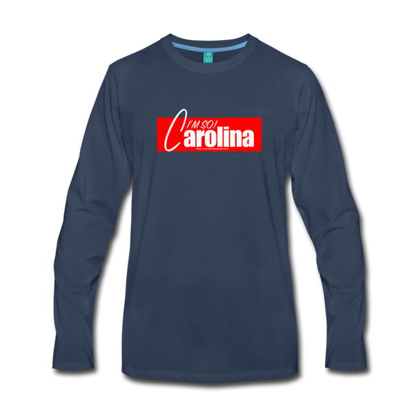 Im So Carolina Premium Long Sleeve T-Shirt - navy