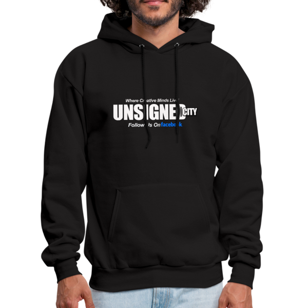 UNSIGNED CITY Hoodie - black