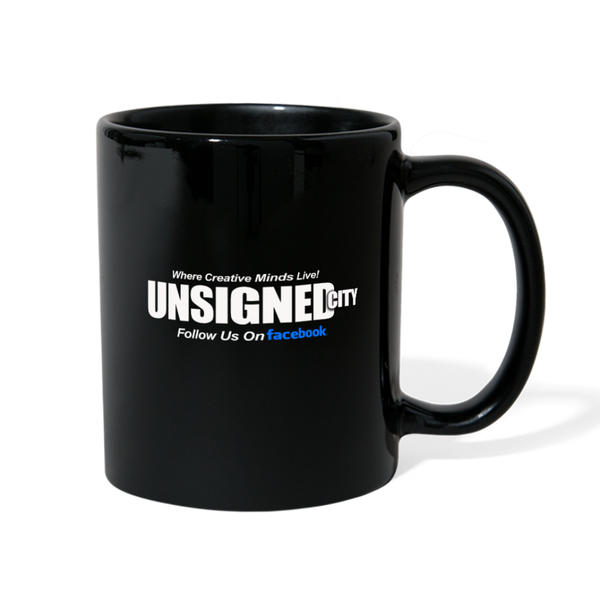 UNSIGNED CITY Full Color Mug - black