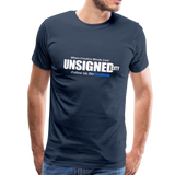 UNSIGNED CITY Premium T-Shirt - navy