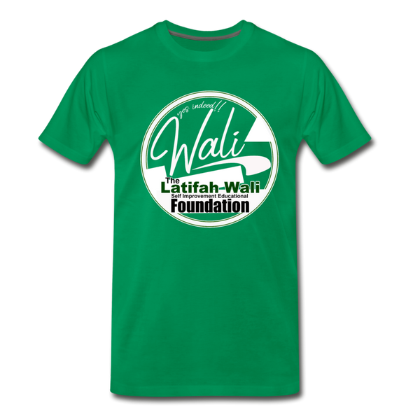 The Latifah Wali Self Improvement Educational Foundation T-Shirt - kelly green