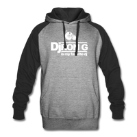 Dj Ron G is My Favorite DJ Hoodie - heather gray/black